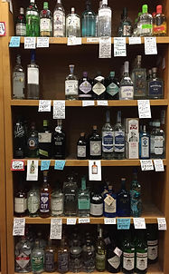 Plaza Liquors Spirits Selection