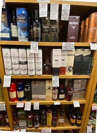 MacCallan Scotch at Plaza Liquors