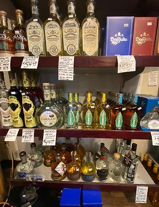 Tequilas at Plaza Liquors Tucson