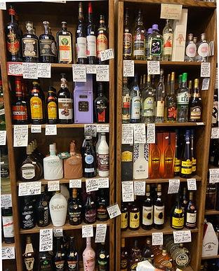 Elderflower liqueur at Plaza Liquors