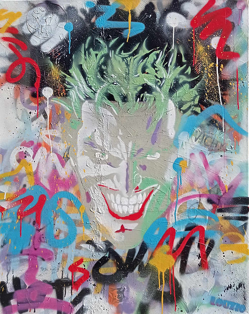 LOUZIO - Joker - 80x100cm