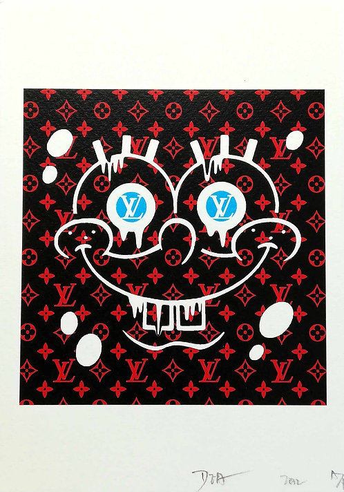 DEATH NYC - sérigraphie - 2012