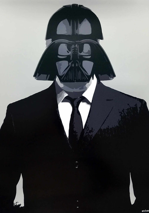 HAMJAM - Darth Vader Star Wars Costume - 42x29,5cm - 2017