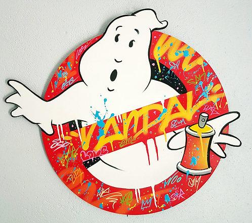 DN - Ghost Vandal - 76x67cm - 2020