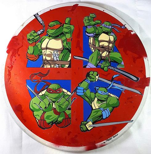"RABE - ""ninja turtles attack"" - 66cm"