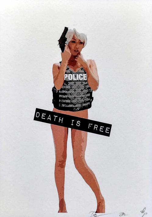 DEATH NYC - 15x21cm - 2012
