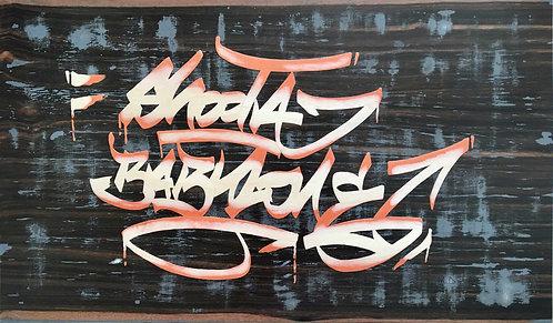 MORGAN LD - Shoota Babylone - 86x50,8cm