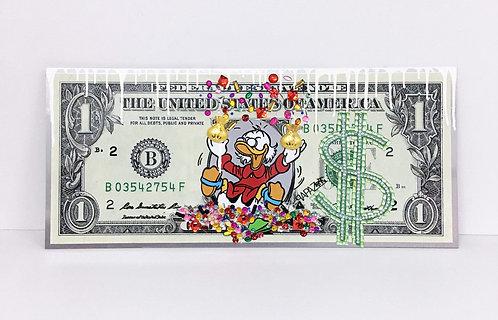 PAPAZ - Dollar Piscou Bijoux #1 - 80x35cm