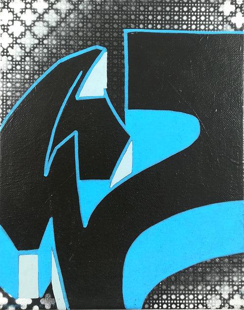 Tableau ZIMAD graffiti - street art - geek art