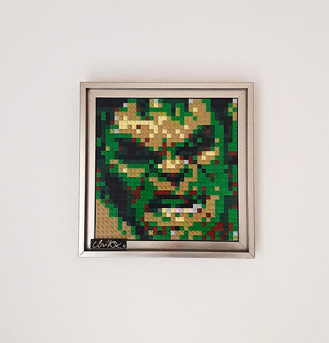 BRIKX - Mr GREEN - STREET ART - GEEK ART - GRAFFITI - POP ART