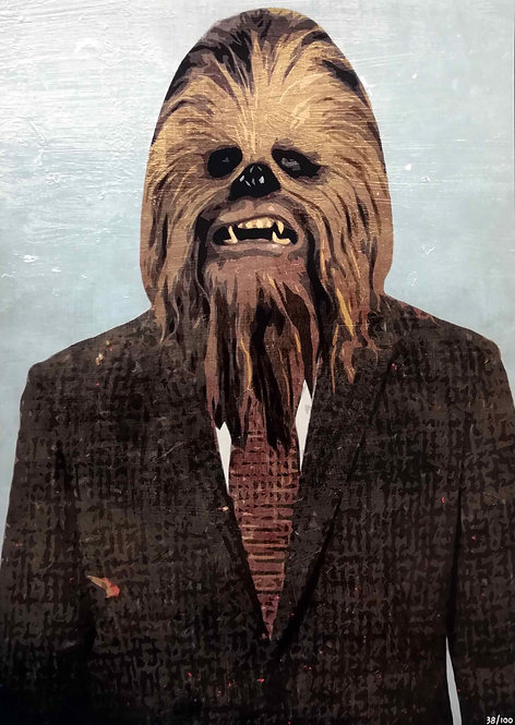 HAMJAM - Chewbacca Star Wars Costume - 42x29,5cm - 2017