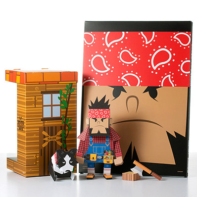 MOMOT CARPO PAPER TOY