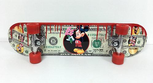 PAPAZ - Skate Mickey red #2 - 76x20cm
