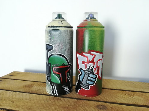 hoakser graffiti spray bombe