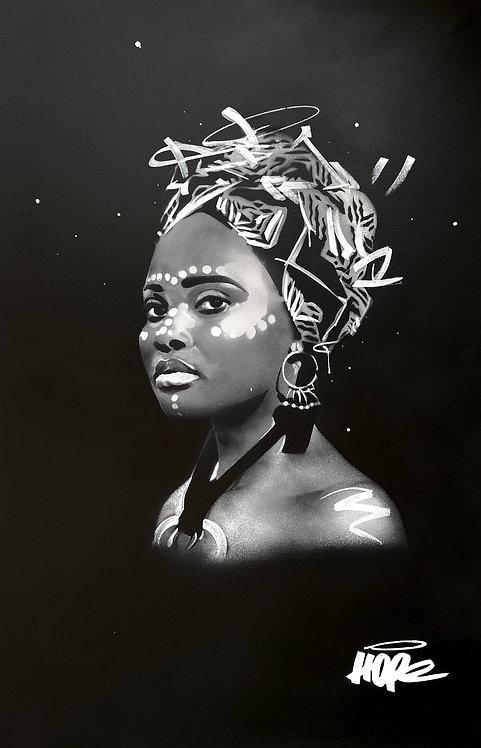 HOPE 1393 - Afro Erika - 89x146cm - 2020