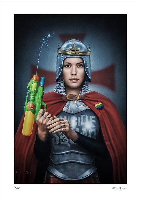ALEXANDRE GRANGER - Joan of Arc - 50x70cm