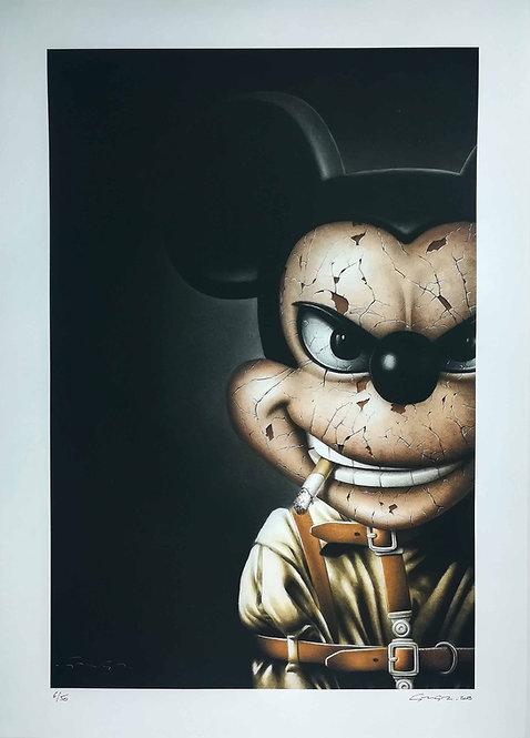 LA STREET GALERIE - ALEXANDRE GRANGER - Mad Mouse - 40x60cm