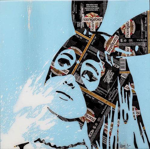 MAXL - Ariana Black & Blue - 48,5x48,5cm