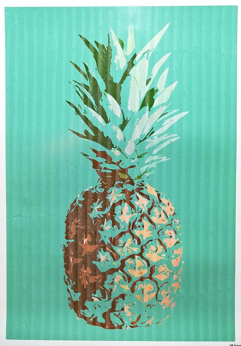 HAMJAM - Ananas Pop art - 42x29,5cm - 2017