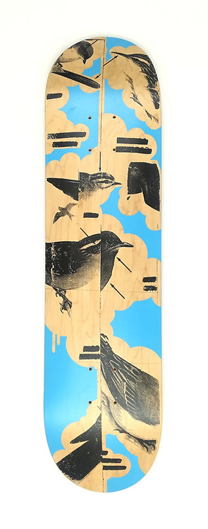 MIKE NOWLAND - Skate Deck - 2006