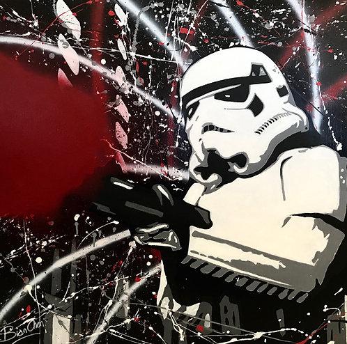 Christophe Biancheri - Stormtrooper - 80x80cm