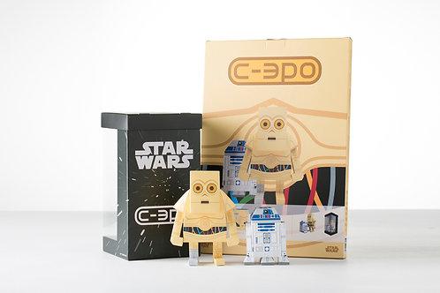 MOMOT C-3PO PAPER TOY