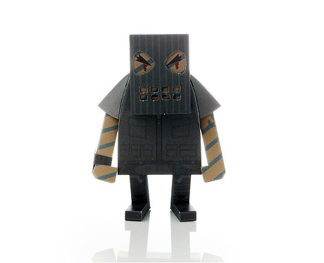 MOMOT COMMANDO PAPER TOY