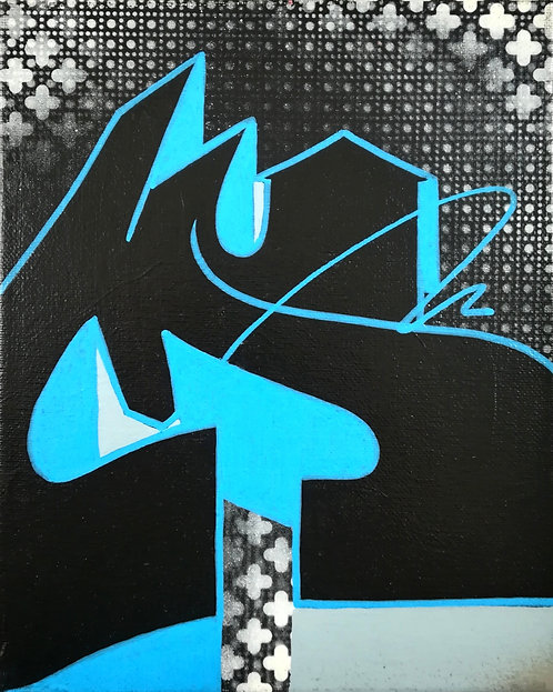 Tableau ZIMAD graffiti - street art - geek art