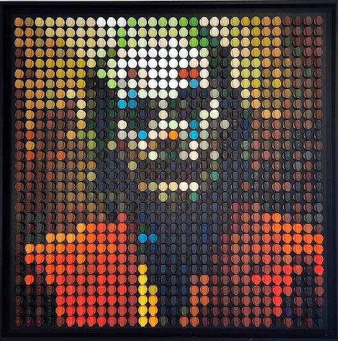 Oliver NEY - Joker - 85x85cm