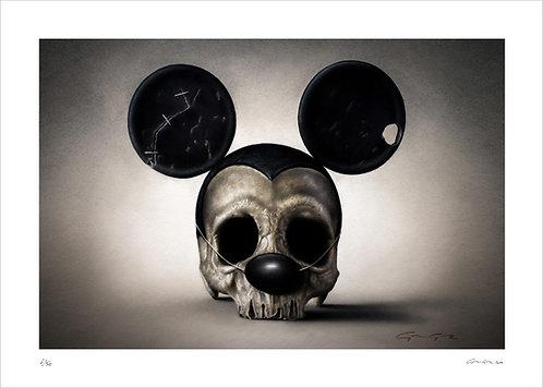 ALEXANDRE GRANGER - R.I.P Mickey - 70x50cm