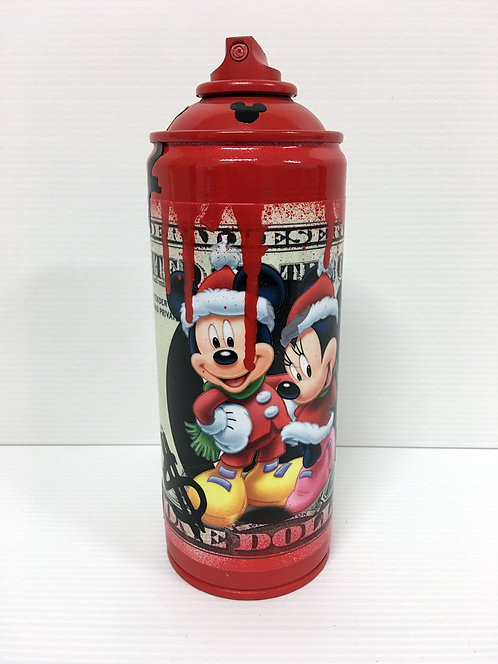 PAPAZ - Bombe Disney noel - 6x18cm