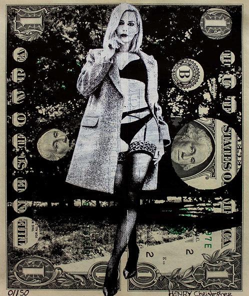Christopher HENRY - EroticDollArt Clara Morgane - 13x15.5cm