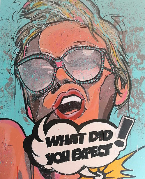 Cyril Dubreuil - What did you Expect! - 81x100cm