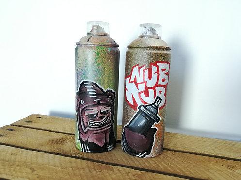hoakser graffiti spray bombe