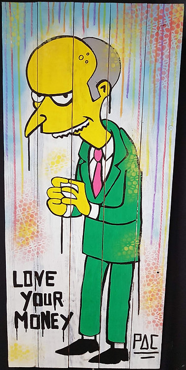 PAC - Love your money - 50x110cm