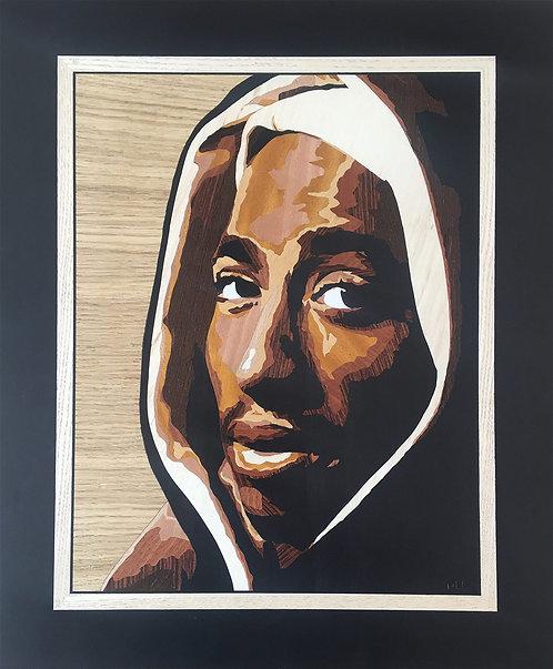 MORGAN LD - Tupac Shakur - 43x51,6cm