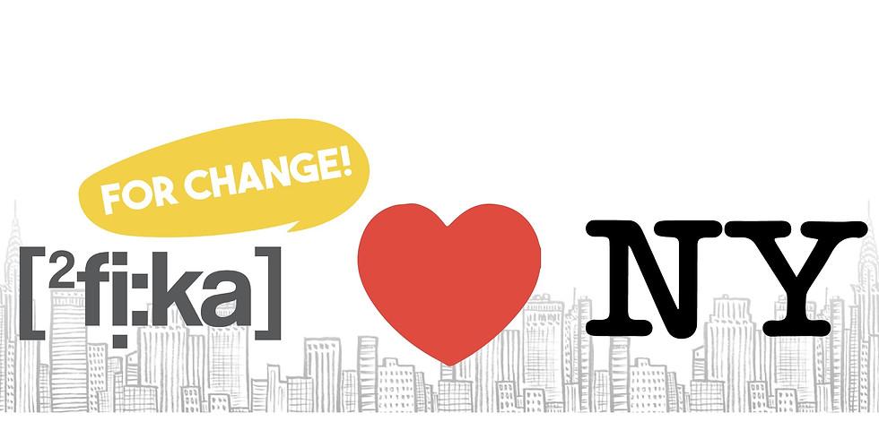 Fika For Change ❤️ NY