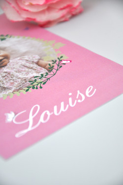 Faire-Part Louise 2