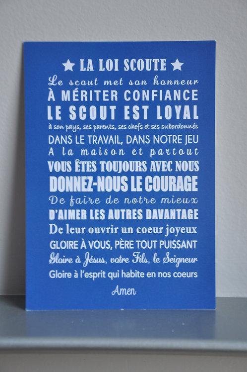 La Loi Scoute