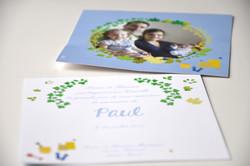 Faire-part Paul M