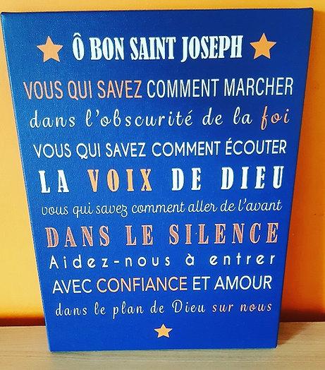 Ô Bon Saint Joseph