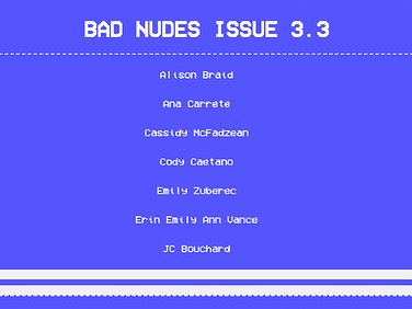 Experimental Writing and the Annoying Concept of Branding: An Interview with BAD NUDES