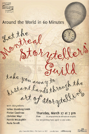 Keeping Oral Tradition Alive with Montreal's Storytellers Guild