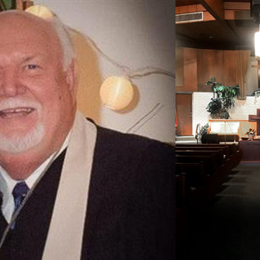 Future for local church and community after loss of beloved pastor