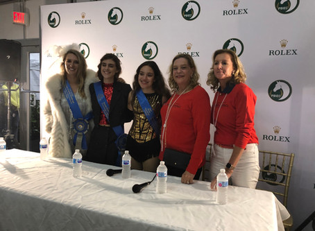 Equestrian meets Broadway for a cause
