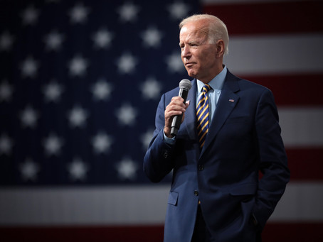 A two-man race: Joe Biden now leads Democratic Party
