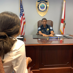 WPB Police Chief Adderly tackles crime with careful thought