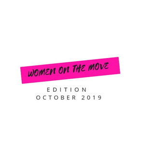 Women on the Move October 2019 Edition