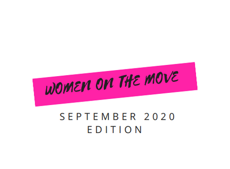 Women on the Move September 2020 Edition