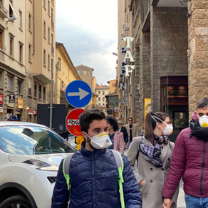 American study abroad students anxious about Coronavirus outbreak